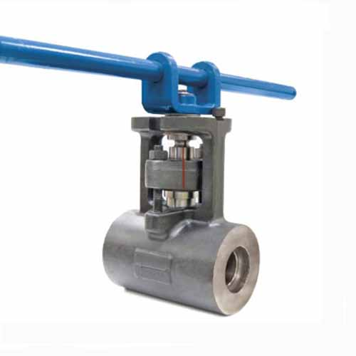 F91 Alloy Forged Ball Valve, ASME, Class 3100, 1 Inch, SW