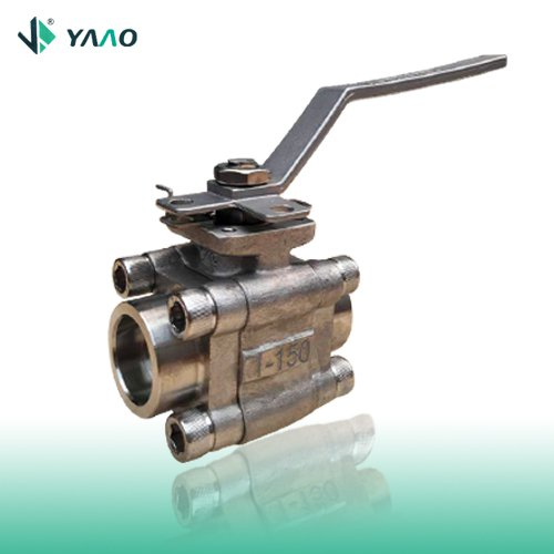 Three-Piece Forged Ball Valve, 1/2-2 Inch, 150-2500LB