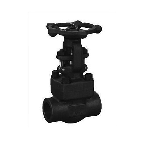 ASME B16.34 Welded Bonnet Forged Gate Valve, 3/4 Inch, 300 LB
