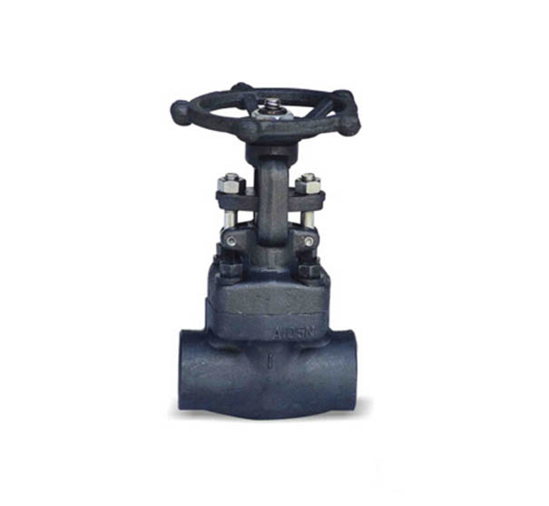 ASTM A105 Forged Gate Valve, API 6D, Class 150, 1/2 Inch