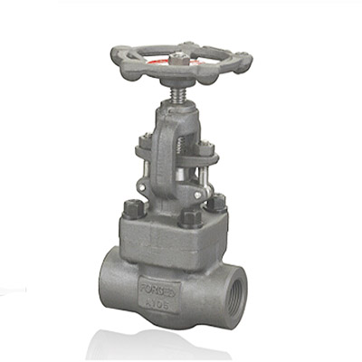 Forged Alloy Steel Gate Valve API 602 1/2 - 2 Inch 800 - 1500 LB BW