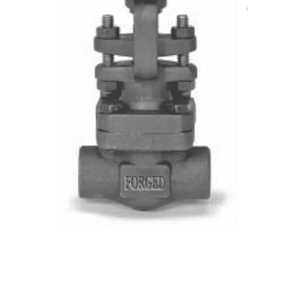 LF2 Forged Gate Valve, API 602, 1/2 Inch, Class 800, OS&Y, Screwed