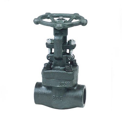 Threaded Forged Steel Gate Valve, ASME B16.34, 2 Inch, 800 LB, NPT