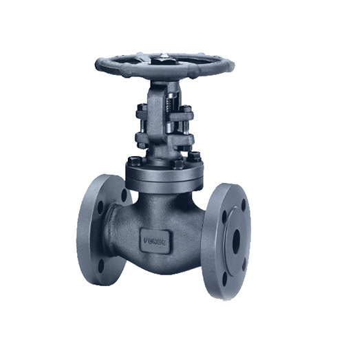 API 602 2 Inch Forged Globe Valve, 600 LB, Bolted Bonnet, Flanged