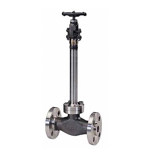 F316 Forged Cryogenic Globe Valve, ASME B16.34, 2IN, CL600, Flanged